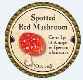 Spotted Red Mushroom 2015