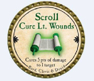 Scroll Cure Lt Wounds 2015