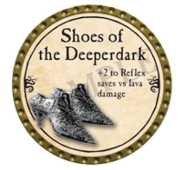 Shoes of the Deeperdark 2016