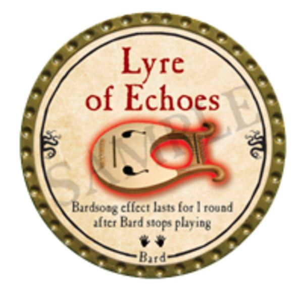 Lyre of Echoes 2016
