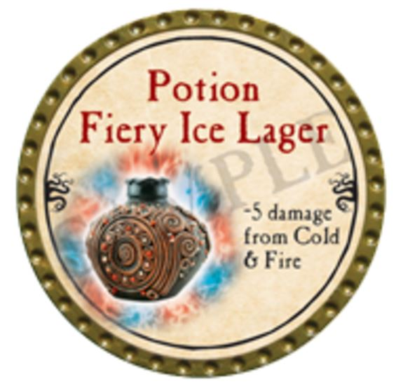 Potion Fiery Ice Lager 2016