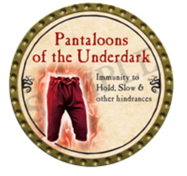Pantaloons of the Underdark 2016