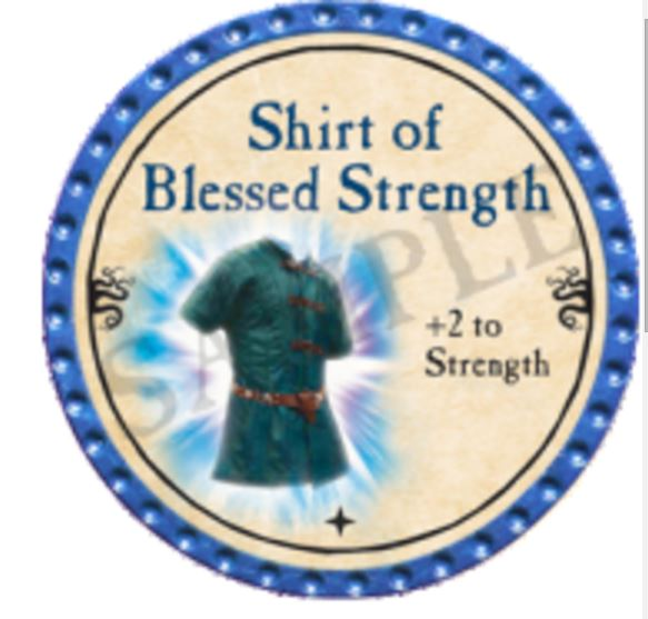 Shirt of Blessed Strength 2016