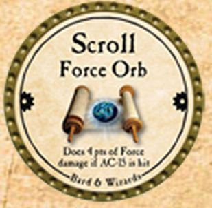 Scroll Force Orb